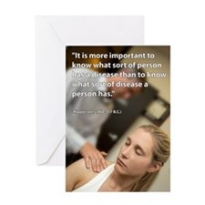 chiro-poster-005 Greeting Card
