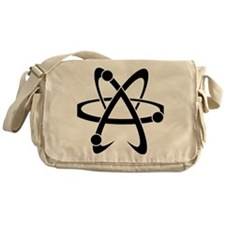 Atheist A black Messenger Bag