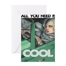 COOL - ALL YOU NEED Greeting Card