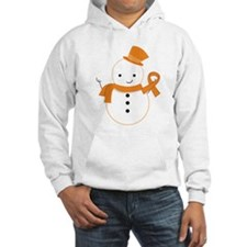 Multiple Sclerosis Snowman Awareness Jumper Hoody