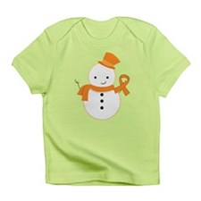 Multiple Sclerosis Snowman Awareness Infant T-Shir