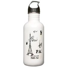 EIFFEbirdLjournal Water Bottle