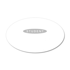 Shermer high school class li 35x21 Oval Wall Decal