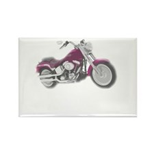 real women harley Rectangle Magnet
