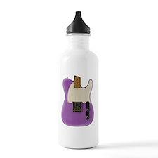 purple vintage tele Water Bottle