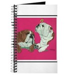 English Bulldog Pair Journal