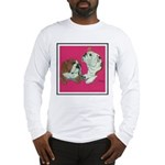 English Bulldog Pair Long Sleeve T-Shirt