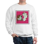 English Bulldog Pair Sweatshirt