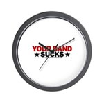 Your Band Sucks Wall Clock