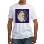 Relaxing English Setter Fitted T-Shirt
