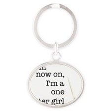 from Oval Keychain