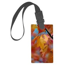 10x14_yellowleaf Luggage Tag