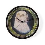 Clumber Spaniel Hunter Wall Clock