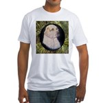 Clumber Spaniel Hunter Fitted T-Shirt