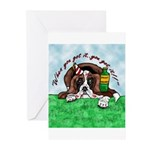 Bassett Hound Party guy!! Greeting Cards (Package