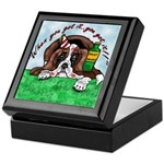 Bassett Hound Party guy!! Keepsake Box