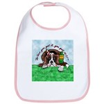 Bassett Hound Party guy!! Bib