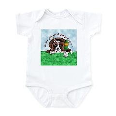 Bassett Hound Party guy!! Infant Bodysuit