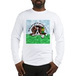 Bassett Hound Party guy!! Long Sleeve T-Shirt
