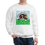 Bassett Hound Party guy!! Sweatshirt