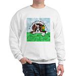 Bassett Hound Party guy!! Sweatshirt