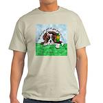 Bassett Hound Party guy!! Ash Grey T-Shirt