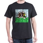 Bassett Hound Party guy!! Dark T-Shirt