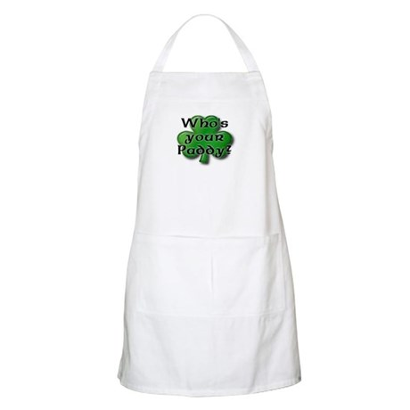 Who's your Paddy? BBQ Apron