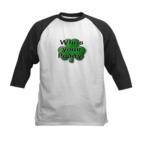 Who's your Paddy? Kids Baseball Jersey
