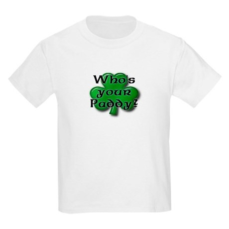 Who's your Paddy? Kids T-Shirt