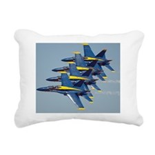 Blue Angels - Mousepad Rectangular Canvas Pillow
