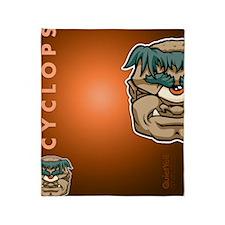 flipflop_cyclops Throw Blanket