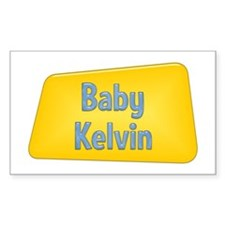 Baby Kelvin Rectangle Decal