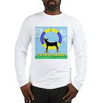 Agility Doberman Pinscher Long Sleeve T-Shirt