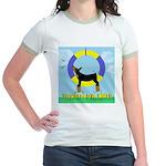 Agility Doberman Pinscher Jr. Ringer T-Shirt