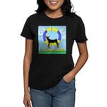 Agility Doberman Pinscher Women's Dark T-Shirt
