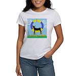 Agility Doberman Pinscher Women's T-Shirt