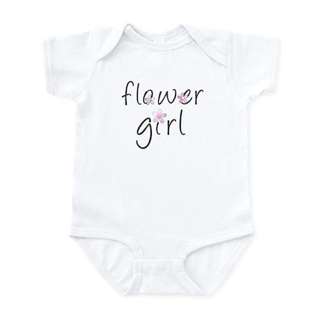Sweet Flower Girl Infant Bodysuit