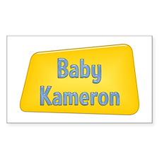Baby Kameron Rectangle Decal