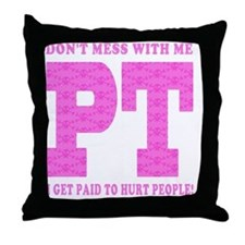 PT_Pink_new Throw Pillow