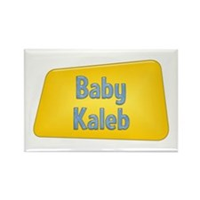 Baby Kaleb Rectangle Magnet