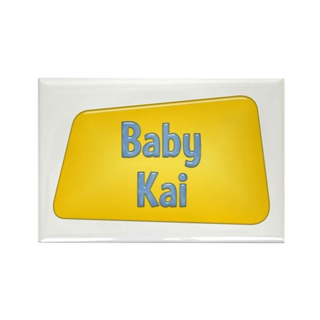 Baby Kai Rectangle Magnet