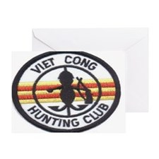 cong huny club Greeting Card