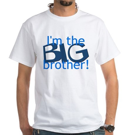 Big Brother White T-Shirt