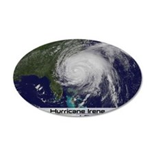 Hurricane Irene poster 2 Wall Decal