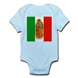 Virgen de Guadalupe - Mexican Flag Infant Bodysuit