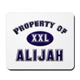 Property of alijah Mousepad
