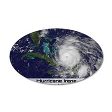 Hurricane Irene poster Wall Decal