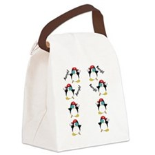 piratepenguinarrghflipflop Canvas Lunch Bag