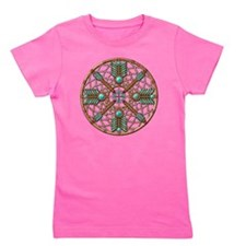 Turquoise Copper Dreamcatcher Girl's Tee